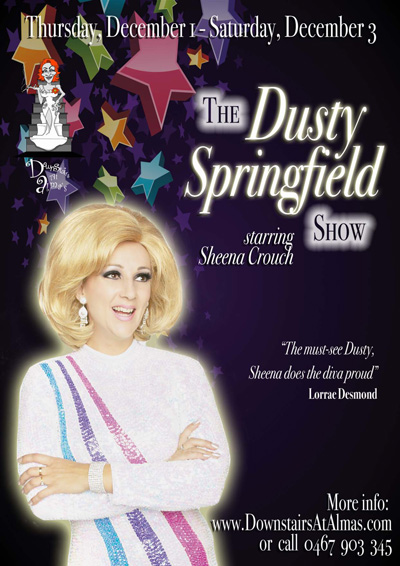 The Dusty Springfield Show starring Sheena Crouch